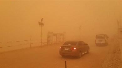 Photo of عاصفة ترابية تهب على أرجاء متفرقة في مصر