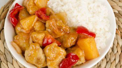 Photo of طريقة عمل دجاج صيني مع الاناناس
