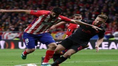Photo of أتلتيكو مدريد إلى نهائي الدوري الأوروبي