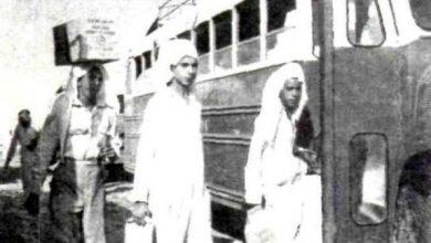 Photo of من ذاكرة الماضي.. موظفو أرامكو يتوجهون لمنازلهم لقضاء عطلة العيد قبل 60 عاما