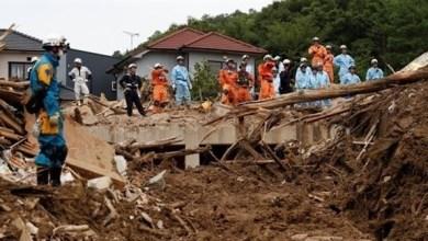 Photo of ارتفاع عدد ضحايا سيول اليابان إلى 176 وتحذيرات من مخاطر جديدة