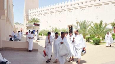 Photo of ضيوف الرحمن يغادرون المدينة لأداء مناسك الحج