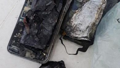 Photo of صور انفجار جوال بمنزل مواطن بالرياض