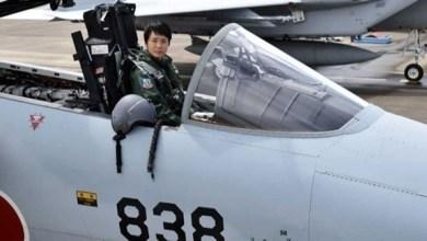 Photo of شابة تتولى مهامها كأول قائدة طائرة مقاتلة في اليابان