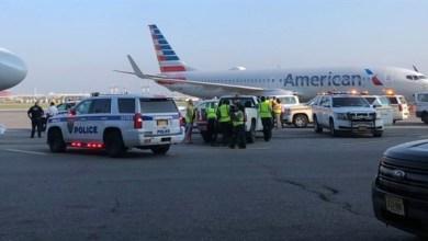Photo of العثور على جنين داخل مرحاض طائرة بأحد مطارات نيويورك