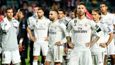 "Photo of قائمة ريال مدريد.. كورتوا ينضم لأول مرة وبيل وبنزيمة يقودان الهجوم أمام ""خيتافي"""