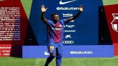 "Photo of ""برشلونة"" يحدد موقفه النهائي من بيع «ديمبلي»"