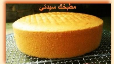Photo of طريقة عمل كيكة جنواز أو الكيكة الإسفنجية الكلاسيكية باحتراف بالصور والخطوات