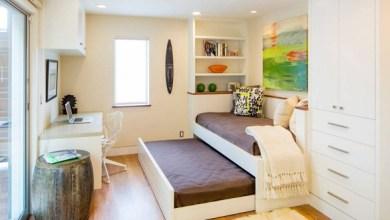 Photo of 8 أفكار لتصاميم مميزة للسرير في غرف النوم الصغيرة