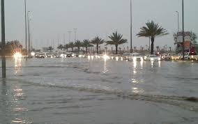 Photo of أمطار على مركز الهجمية بمنطقة تبوك