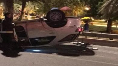 Photo of إصابة 11 شخصاً إثر حادث مروري مروع بمكة