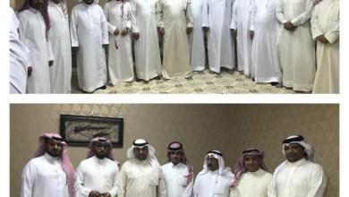 Photo of للأحتفال باليوم الوطني ٨٨ الشيخ/ سلطان بن شهيل بن سويط يحتفي بالأعلاميين الخليجين في منزله