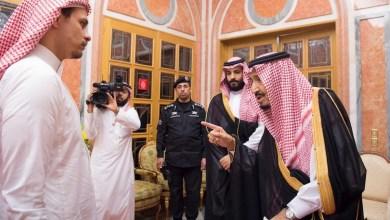 Photo of بالصور.. الملك سلمان يستقبل أسرة الصحفى خاشقجى ويقدم التعازى
