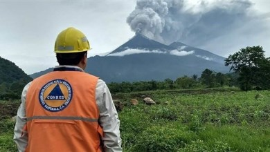 "Photo of غواتيمالا: تجدد نشاط بركان ""فويغو"""
