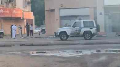 "Photo of مجهولون يقتحمون بنكاً بـ""أبو عريش"" ويفرون قبل سرقته.. و""شرطة جازان"" تعلق"