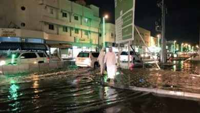 Photo of بالفيديو: أمطار غزيرة على نجران.. ونائب أمير المنطقة يتفقد مواقع تجمعات المياه
