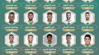 Photo of إعلان قائمة الاخضر للدورة الرباعية وعودة القائد عبدالغني