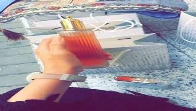 Photo of بالصور: نجمة تبيع العطور في الشوارع و تشعل مواقع التواصل