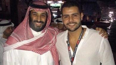 Photo of صورة الأمير محمد بن سلمان مع إبن شقيق جمال خاشقجي في أبوظبي