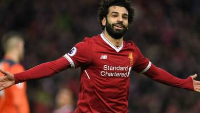 "Photo of اللاعب المصري محمد صلاح يحصد جائزة ""هدف الشهر"" فى ليفربول"