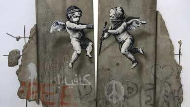 Photo of بانكسي يُبهر العالم بعمل فني جديد عن جدار الفصل العنصري في لندن