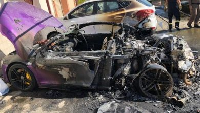 Photo of الكشف عن سبب إحراق سيارة فارهة بواسطة شخص متنكر في زي نسائي