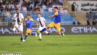 Photo of دوري الامير محمد بن سلمان : موسى يقود النصر لحسم الديربي امام الشباب