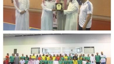Photo of منتخب الجالية السودانية يكسب نجوم اندية الشرقية المخضرمين في ليلة تكريم الرياضيين