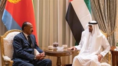 Photo of محمد بن زايد يبحث مع الرئيس الإريتري علاقات التعاون
