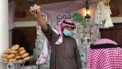 "Photo of بالفيديو.. الكليجا القصيمية تجذب زوار مهرجان ""الجنادرية 33"""