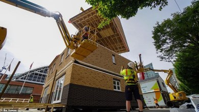 Photo of بالصور: منزل أنيق يمكن بناؤه في 36 ساعة