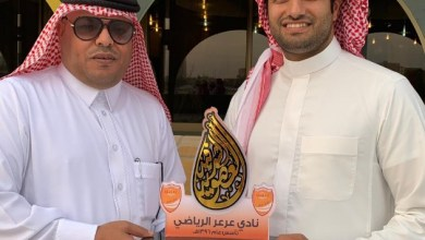 Photo of نادي عرعر يقدم العضوية الشرفية لأحمد الخنيني