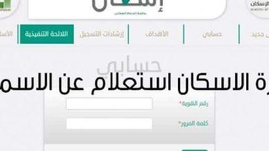 Photo of طريقة استعلام عن مستفيدى الإسكان فى السعودية برقم الهوية