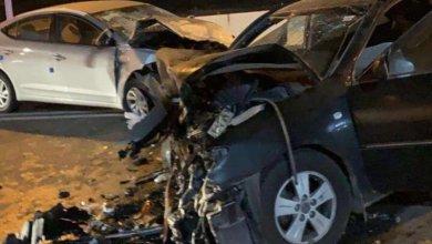 Photo of مصرع شخص وإصابة 5 آخرين إثر حادث تصادم في قلوة