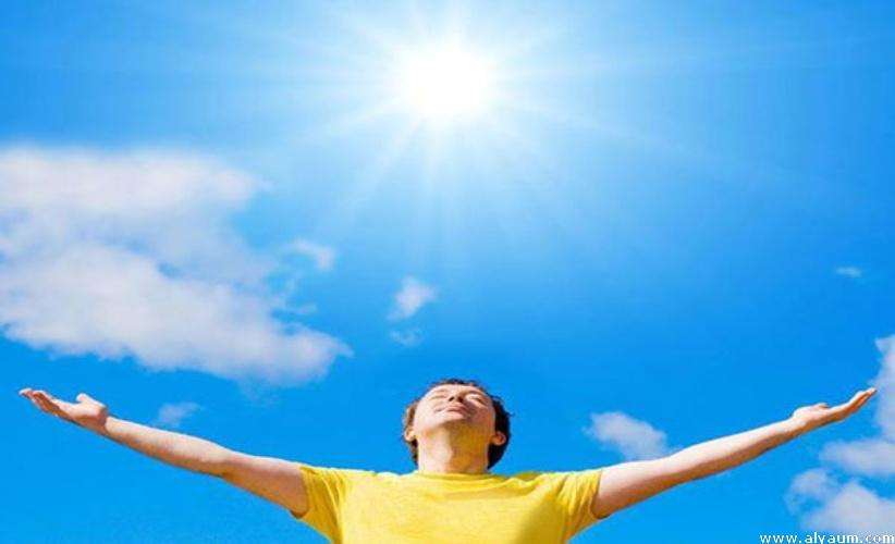 فوائد التعرض للشمس
