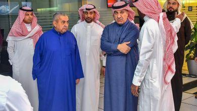 """Photo of شاهد أول صور للوزير الجديد """"الشبانة"""" أثناء زيارته لوكالة """"واس"""" وهيئة الإذاعة والتلفزيون بالرياض"""