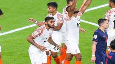 Photo of الهند تتلاعب بتايلاند في كأس آسيا
