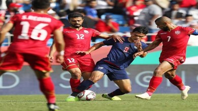 Photo of منتخب البحرين يتعثر أمام تايلاند في كأس آسيا