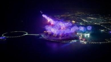 "Photo of رأس الخيمة تدخل ""غينيس"" بأطول خط مستقيم للألعاب النارية في العالم"