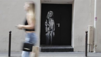 """Photo of فرنسا: سرقة عمل للفنان """"بانكسي"""" من مسرح باتاكلان في باريس"""
