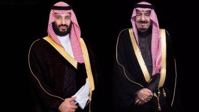 Photo of خادم الحرمين يطلع على التقرير المقدم من ولي العهد