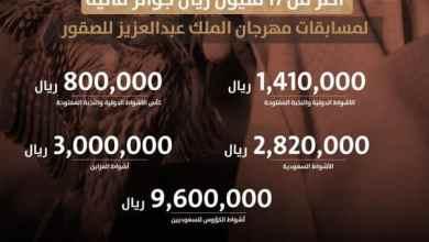Photo of بالصور: نادي الصقور يعلن عن تفاصيل جوائز مهرجان الملك عبدالعزيز للصقور