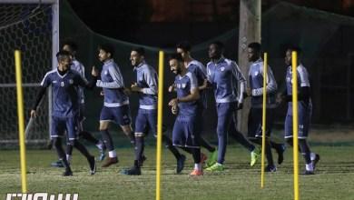 Photo of هجر يستعد للعدالة بإجتماع المدرب مع اللاعبين