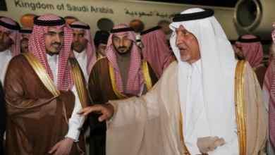 Photo of بالصور والفيديو: في أرض المطار.. الفيصل يستقبل نائبه برفقة وزير الحرس الوطني