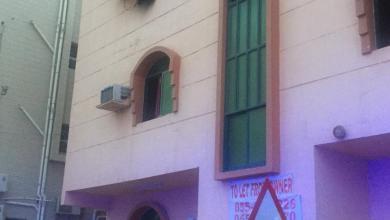 Photo of حريق في بناية سكنية بعجمان يسفرعن إصابة امرأة ورجل