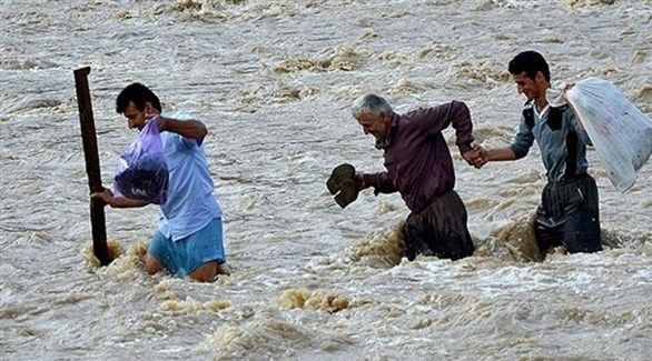 صور فيضانات إيران