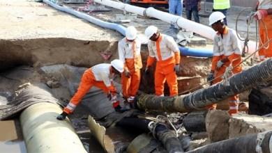 Photo of بلدية الشارقة تتعامل مع حادث انكسار مفاجئ بخط ضخ مياه للصرف الصحي