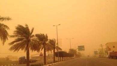 """Photo of """"الأرصاد"""": موجة غبار تضرب هذه المناطق وتستمر حتى الثامنة مساءً"""
