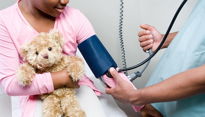 ضغط الدم عند الأطفال