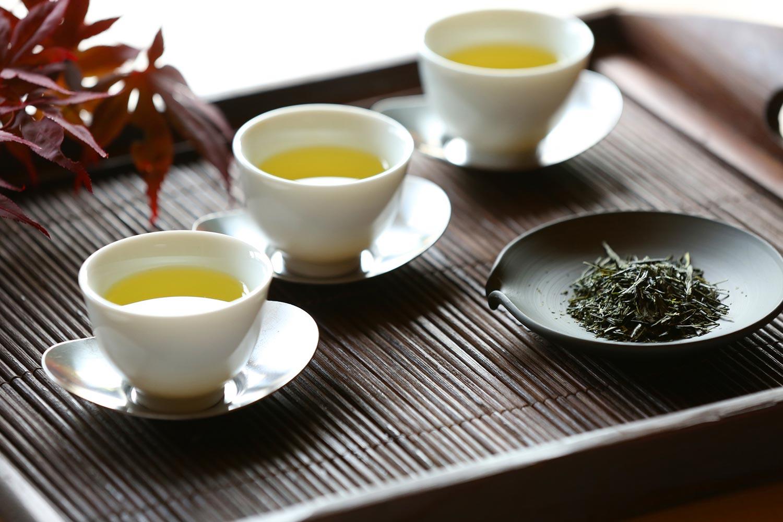الشاي الاخضر الصيني